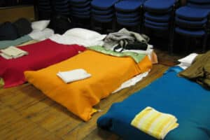 Beds at Wycombe Homeless Connectino